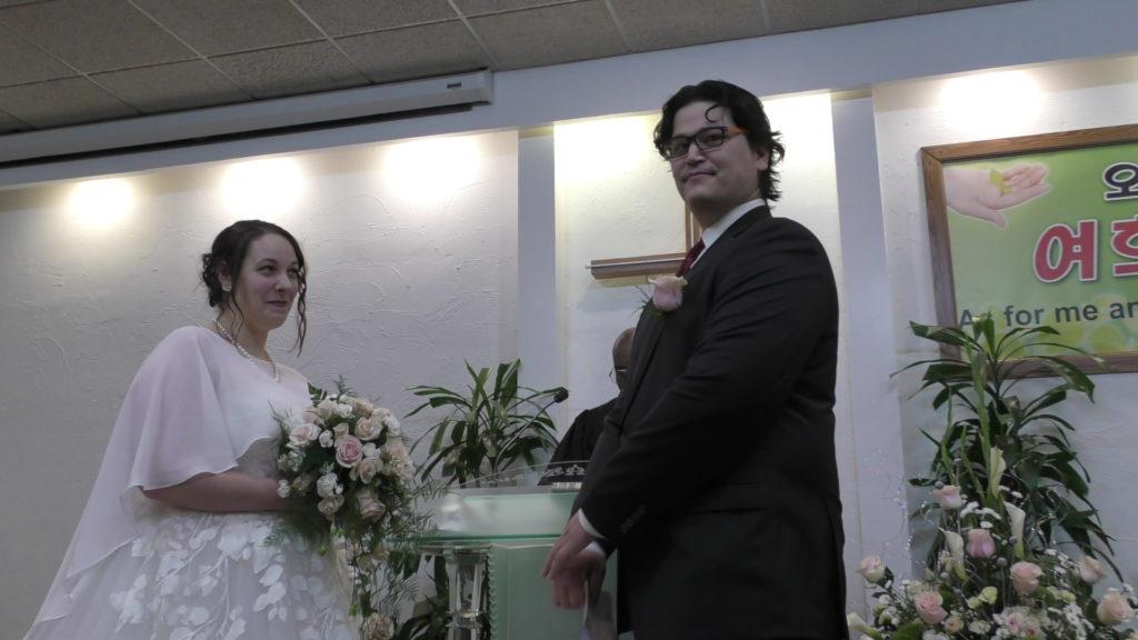12-14-2019 결혼식: 배순애 집사 아들 (Jackson Driver)
